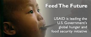Feed The Future.  Photo Credit: Noel Celis / AFP