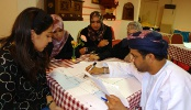 Evaluation Policy (Photo: National AIDS program staff in Oman learn how to create a monitoring and evaluation plan.)