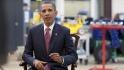 President Barack Obama tapes the Weekly Address