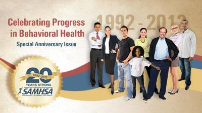Image: SAMHSA 20 Years Strong: 1992 - 2012