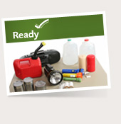September is National Preparedness Month. Before an emergency strikes, get informed, make a plan, and build a kit.