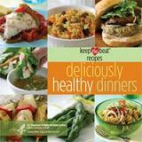 Image of the cover of Deliciously Healthy Dinners
