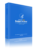 HHS Budget in Brief cover
