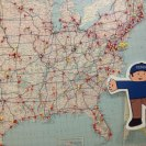 Photo: FEMA Flat Stanley and Flat Stella visit the American Red Cross Disaster Operations Center in Washington, D.C. and see a map showing where the Red Cross trucks are.  http://www.fema.gov/blog/2012-09-06/our-visit-american-red-cross