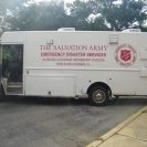Photo: Many non-profit and voluntary organizations are actively supporting the response and recovery efforts to Isaac. Pictured is a Salvation Army mobile feeding truck. (photo courtesy of Salvation Army)