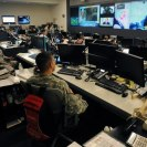 Photo: August 28 - Personnel in the National Guard Command Center in Arlington, Va., monitor the progress of Tropical Storm Isaac as it makes its way through the Gulf of Mexico. The NGCC, which serves as a hub that provides an overall tracking and coordination of National Guard elements, has gone to 24 hour operations in preparation for Isaac making landfall. Isaac's predicted path has it hitting the Gulf Coast region sometime Tuesday or Wednesday. (U.S. Army Photo by Sgt. 1st Class Jon Soucy)