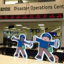 Photo: FEMA Flat Stanley and Flat Stella visit the American Red Cross Disaster Operations Center in Washington, D.C.   http://www.fema.gov/blog/2012-09-06/our-visit-american-red-cross