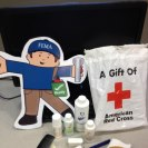 Photo: FEMA Flat Stanley and Flat Stella visit the American Red Cross Disaster Operations Center in Washington, D.C. and see how the Red Cross provides disaster survivors with a comfort kit of important items.  http://www.fema.gov/blog/2012-09-06/our-visit-american-red-cross