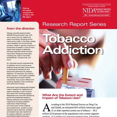 Photo: Here are the facts: 1 - Tobacco use (including smoking cigarettes) is the leading preventable cause of disease and death in the US 2 - Nicotine, which is found in tobacco-based products, is one of the most heavily used addictive drugs.  Learn more here: http://1.usa.gov/yxp1UJ