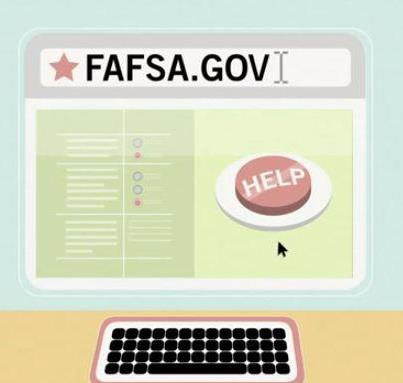 Photo: Did you know that you have to complete a new FAFSA each school year? And some aid is first come, first served, so you'll want to complete it as soon as possible. Who can tell us what day the FAFSA for the 2013-14 school year will become available?