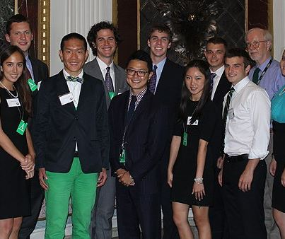 Photo: Deputy Administrator Bob Perciasepe met with Youth Sustainability Challenge winners last week. Watch the winning videos, and learn how today's youth are protecting the environment: http://youthsustainability.challenge.gov/