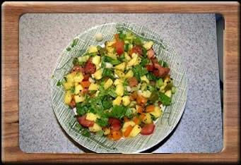 Photo: http://go.usa.gov/rUZR  Spokane Produce, Inc., is voluntarily recalling a small lot run of Pineapple/Mango Pico de Gallo because it has the potential to be contaminated with Salmonella braenderup.