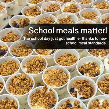 Photo: School meals matter! The school day just got healthier thanks to new school meal standards this school year. Learn more at http://usda.gov/healthierschoolday