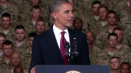 President Obama Speaks to Troops at Fort Bliss