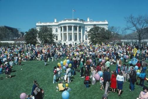Easter Egg Roll 1982