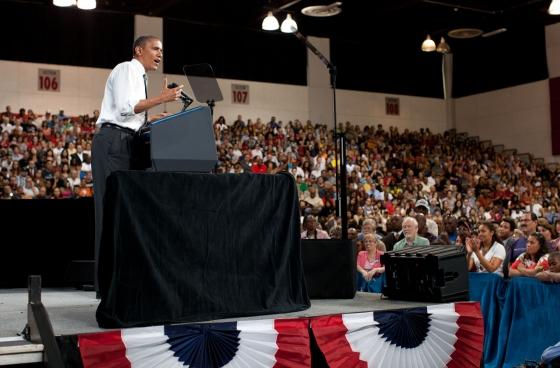 President Barack Obama delivers remarks on college affordability at UNLV (June 7, 2012)