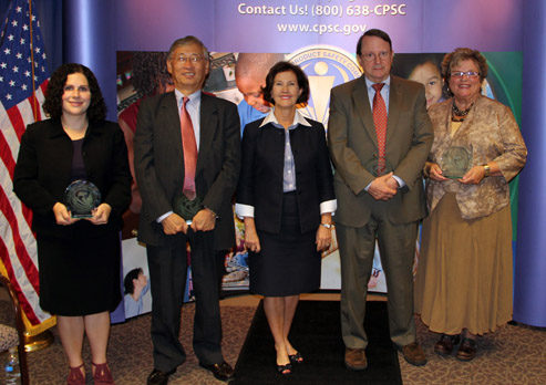 Chairman's Commendation Award recipients