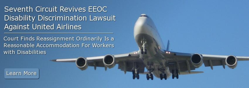 Seventh Circuit Revives EEOC Disability Discrimination Lawsuit Against United Airlines