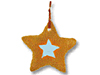 A star-shaped cookie