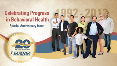 Image: SAMHSA 20 Years Strong: 1992 - 2012
