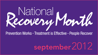Image: National Recovery Month Logo