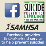 SAMHSA and Facebook team up to help prevent suicide