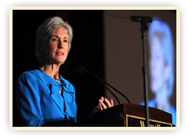 Secretary Sebelius and Attorney General Eric Holder make joint announcement