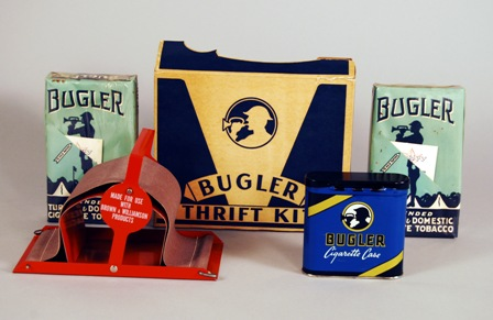Bugler Thrift Kit for Hand-Rolling Cigarettes, Brown and Williamson Tobacco Corp., after 1930