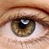 Close-up photo of a human eye.