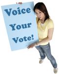 voice your vote!