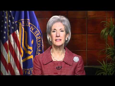 Image: Secretary Sebelius announces MyCare – an HHS initiative to educate Americans about the health care law.