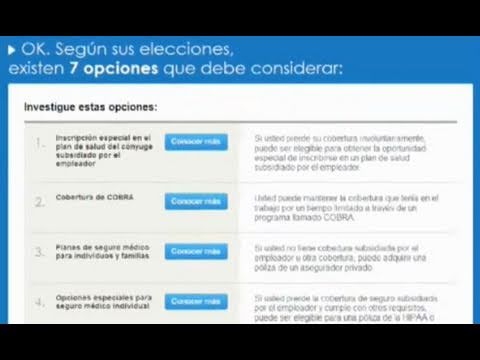 Image: Use the health insurance finder to explore coverage and pricing options. Watch a Spanish language video to learn more.