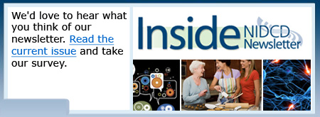 We'd love to hear what you think of our newsletter. Read the current issue and take our survey