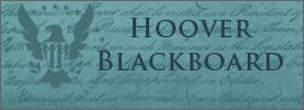 Hoover Blackboard Blog