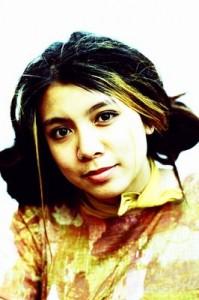 Photo of a teen girl.