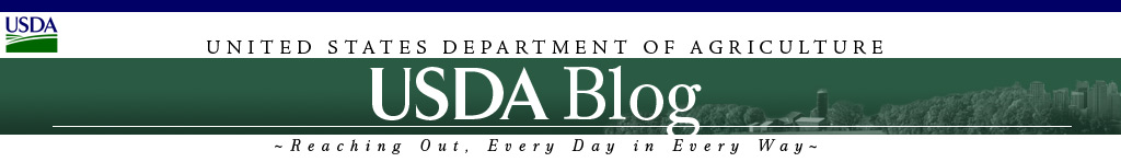 USDA United States Department of Agriculture, USDA Blog - Reaching Out, Every Day, In Every Way