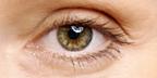 close up of an eye