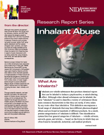 Publication: Research Report Series - Inhalant Abuse