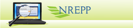 logo for SAMHSA's National Registry of Evidence-based Programs and Practices—click to view website