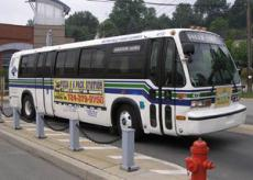 Photograph of a bus