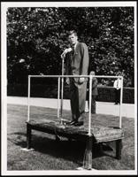 Photo of John F. Kennedy at NLM