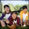 Children at summer camp