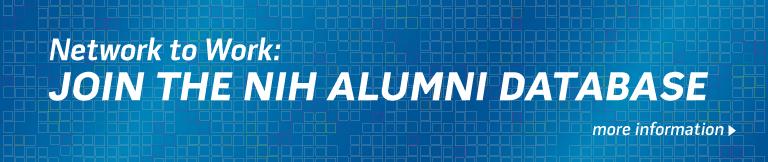 Banner: Join the NIH Alumni Database