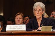 HHS Secretary Sebelius testifies before the U.S. Senate. Credit: Photo by Chris Smith – HHS Photographer.