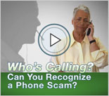 Let's Say Goodbye to Fradulent Telemarketing Video