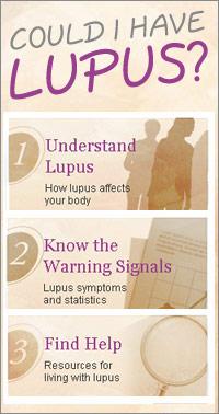 Could I Have Lupus? website screenshot