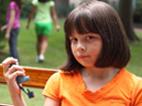 image of Girl with inhaler