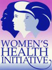 image of Women's Health Initiative logo with three women's heads