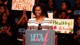 Let's Move Rally in Jackson, Mississippi