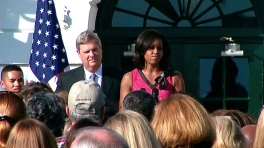 The First Lady Speaks on the HealthierUS School Challenge